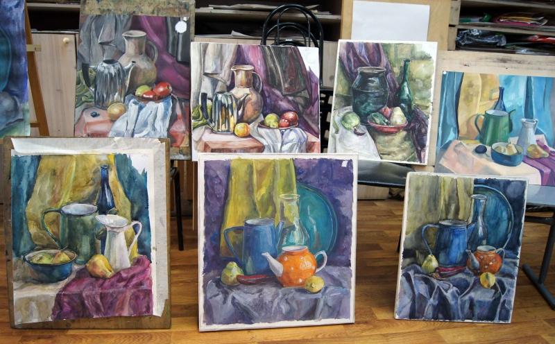 Конкурсы по живописи и рисунку 2017